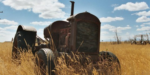 old farm equipmen